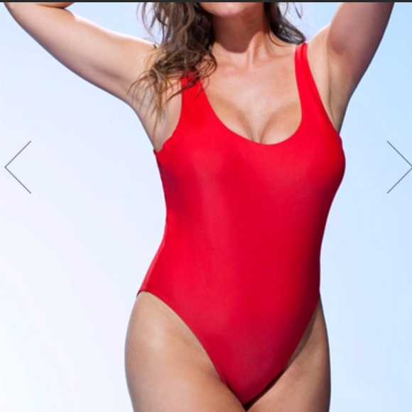 1622a5d4606 Ashley Graham Swim | Suits For All Red One Piece | Poshmark